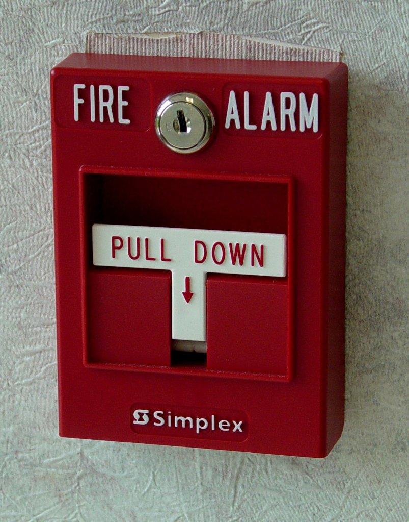 Fire Alarm panel.
