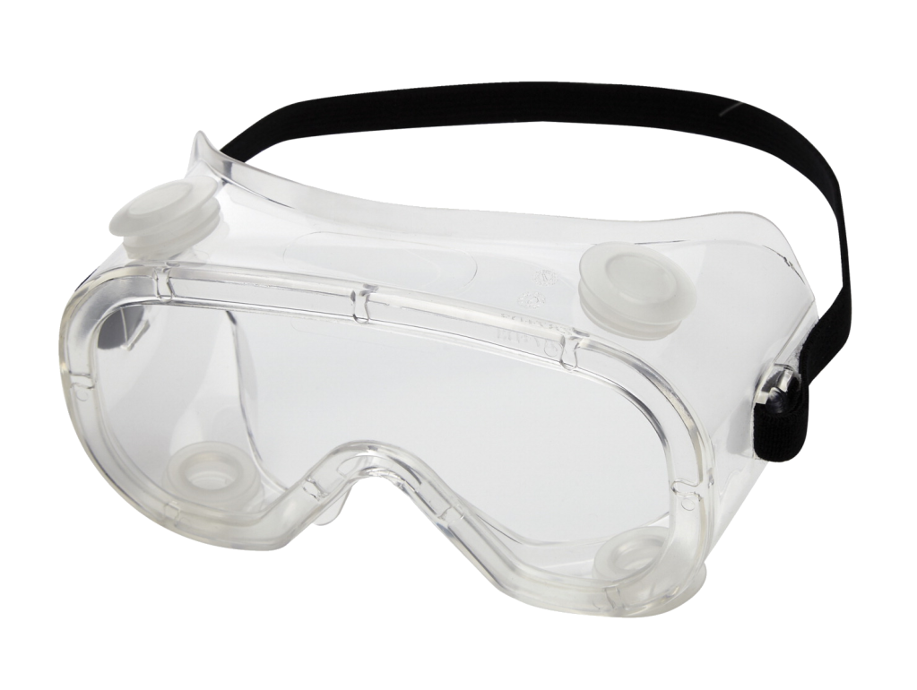 Clear Industrial Safety Goggles.