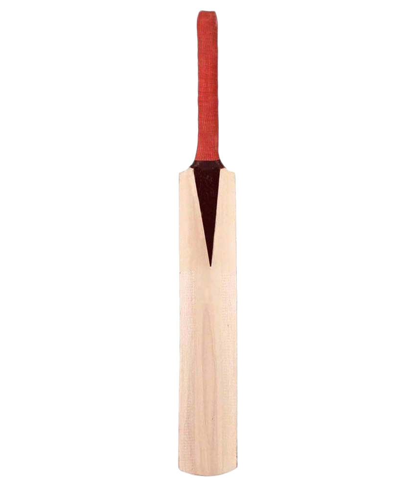 Red Handled Cricket Bat.