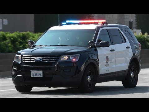 Los Angeles Police Department Vehicle